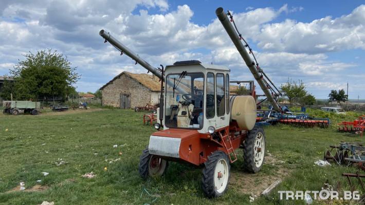 Самоходни пръскачки Самоходна пръскачка 4 - Трактор БГ