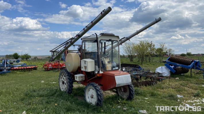 Самоходни пръскачки Самоходна пръскачка 5 - Трактор БГ