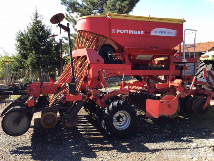 Сеялки Pottinger Terrasem 3000T 0 - Трактор БГ