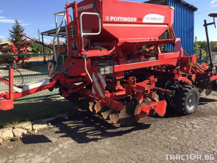 Сеялки Pottinger Terrasem 3000T 2 - Трактор БГ