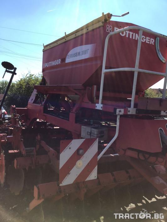 Сеялки Pottinger Terrasem 3000T 3 - Трактор БГ