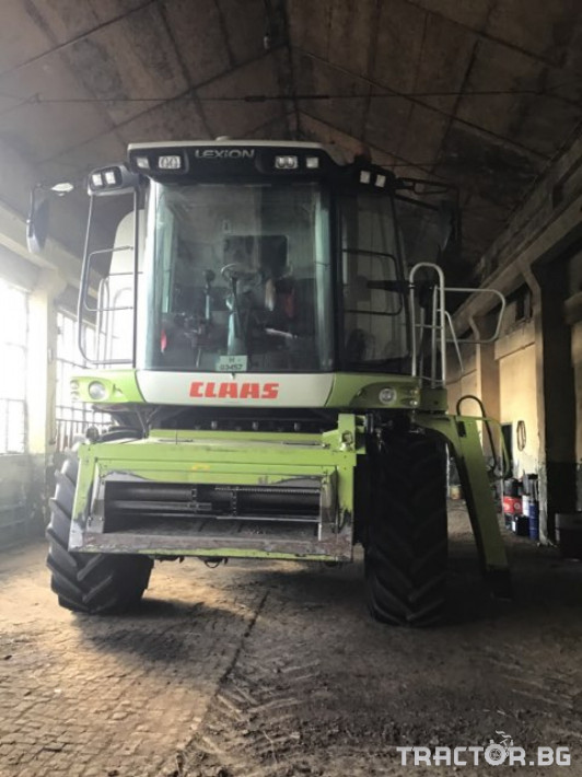 Комбайни Claas Lexion 540 0 - Трактор БГ