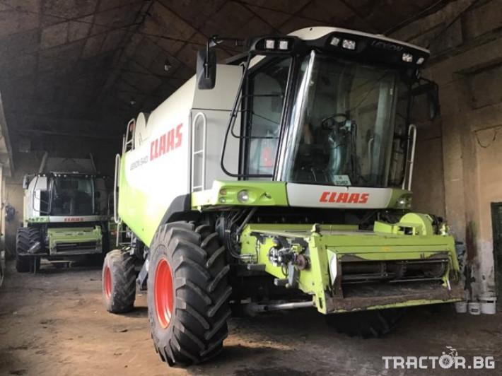Комбайни Claas Lexion 540 3 - Трактор БГ