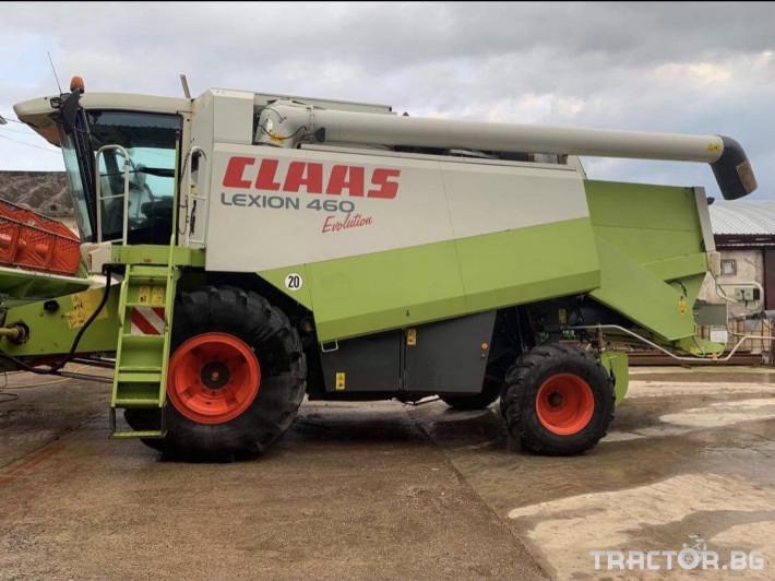 Комбайни Claas Lexion 460 Evolution 0 - Трактор БГ