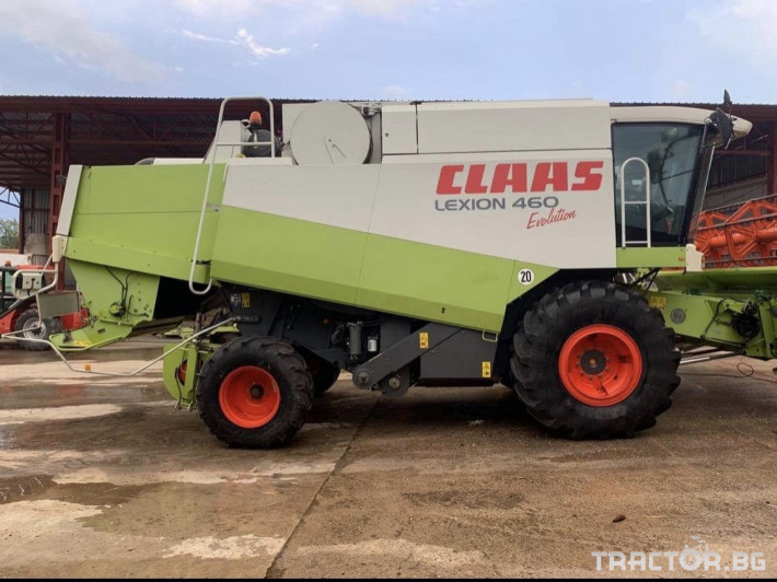 Комбайни Claas Lexion 460 Evolution 1 - Трактор БГ