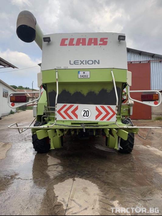 Комбайни Claas Lexion 460 Evolution 2 - Трактор БГ
