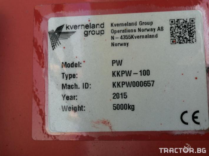 Плугове Kverneland PW 100 12 2 - Трактор БГ