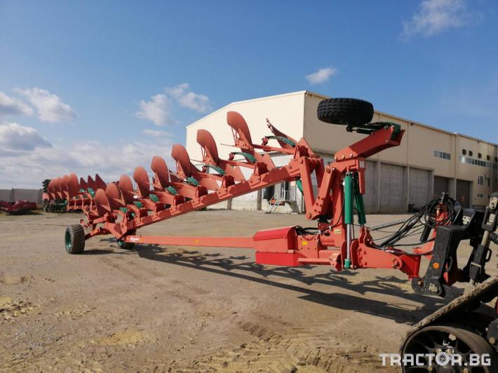 Плугове Kverneland PW 100 12 6 - Трактор БГ