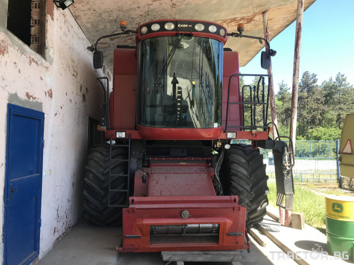 Комбайни CASE-IH AF7130 0 - Трактор БГ